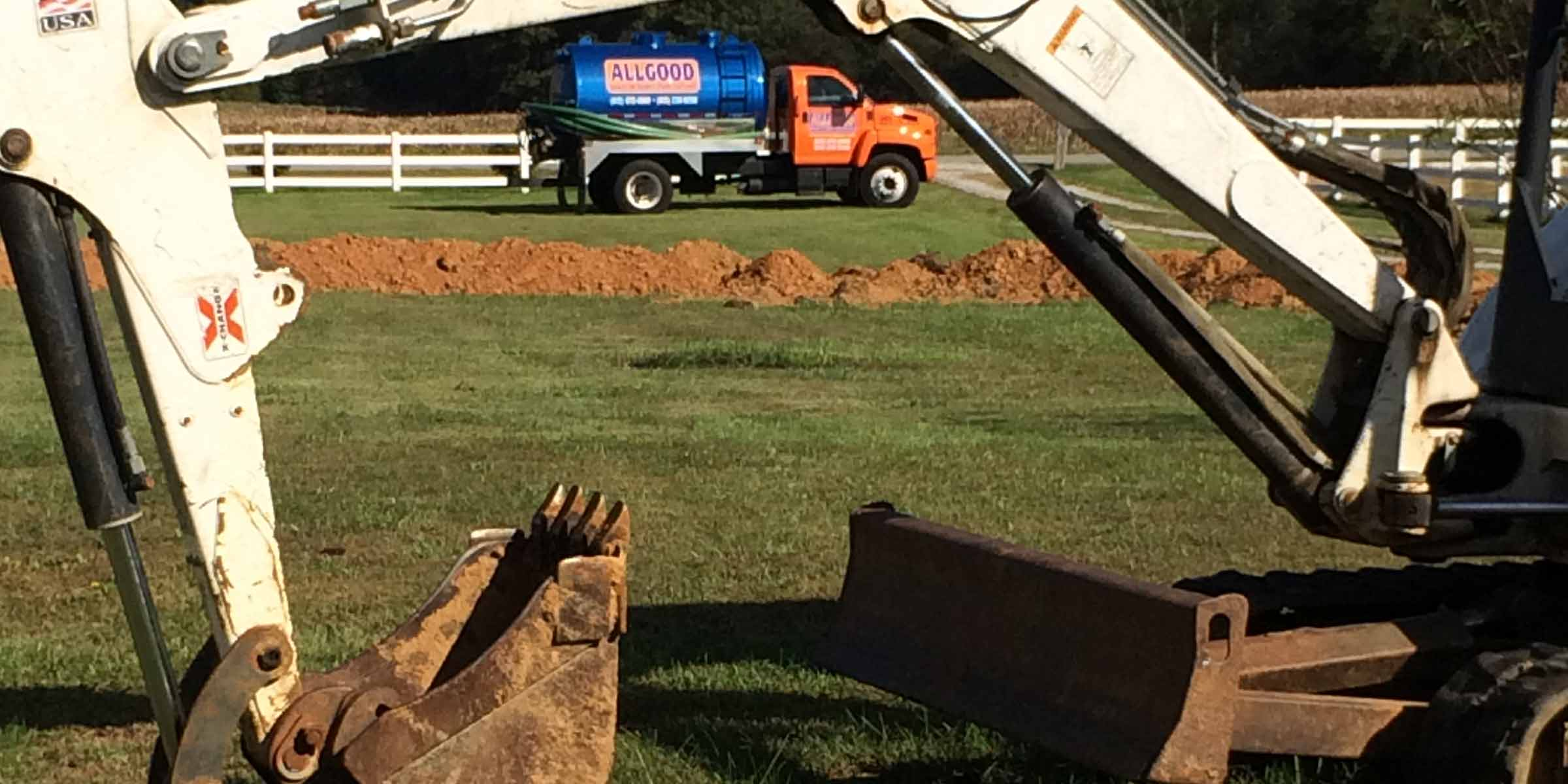 field line repairs by Allgood