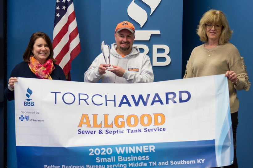 Allgood honored to receive Torch Award
