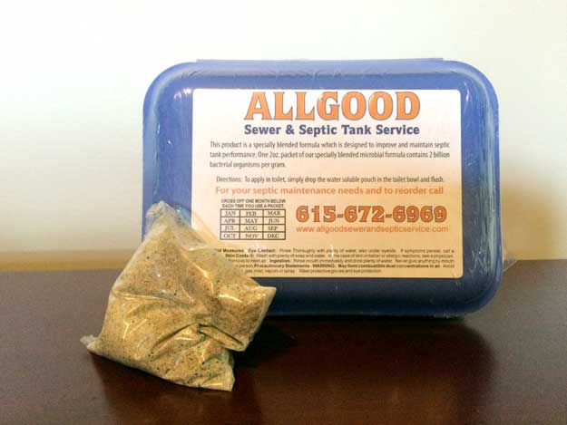 septic enzymes offered by Allgood