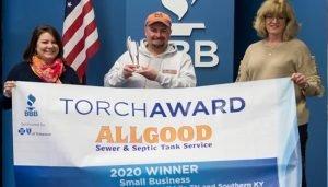 Allgood wins award