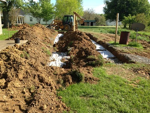 Septic nightmare is having new field lines installed because not maintenanced regularly